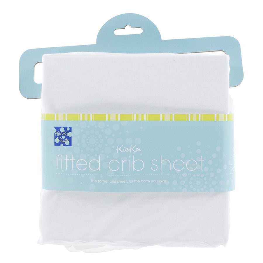 Solid Fitted Crib Sheet, Natural (New Packaging)
