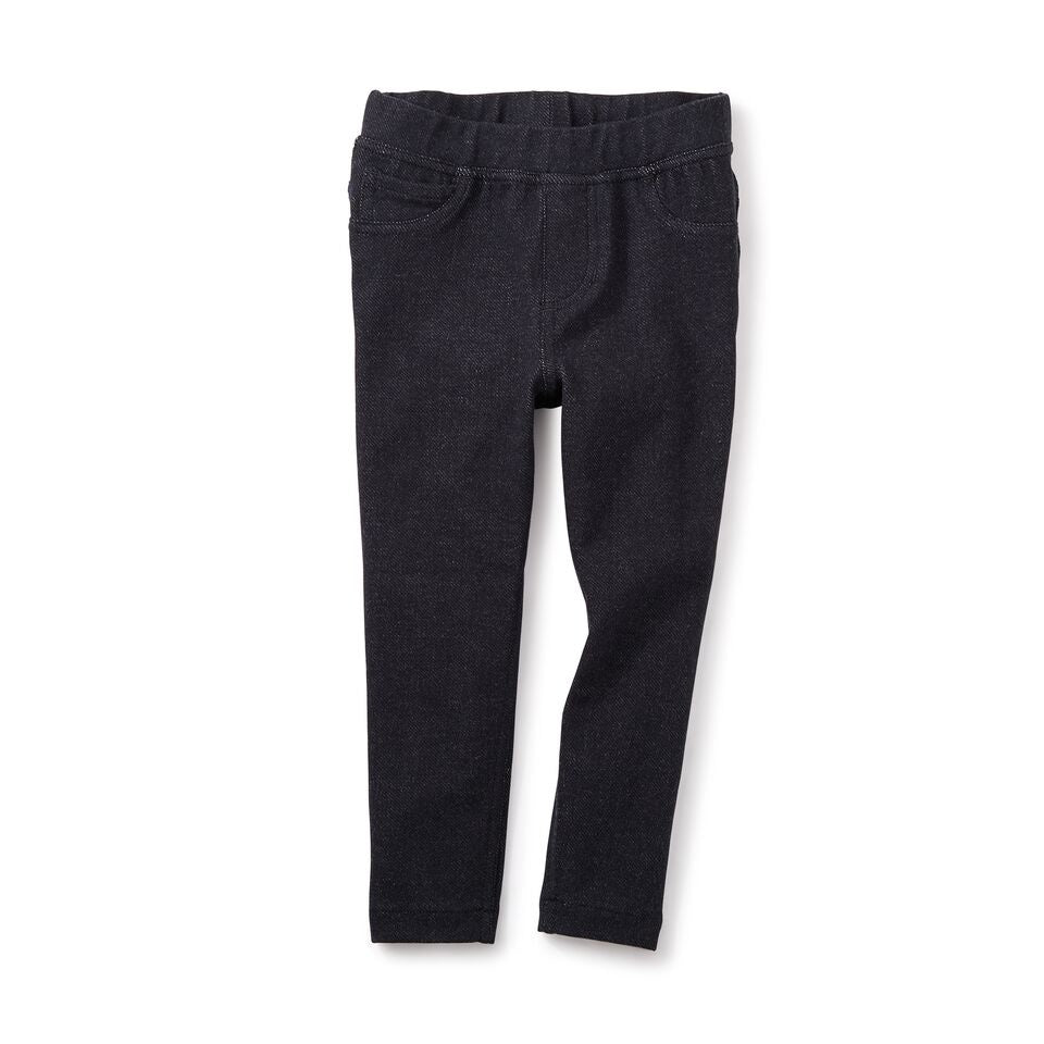 Tea Collection Stretch Denim-Like Pant, Indigo