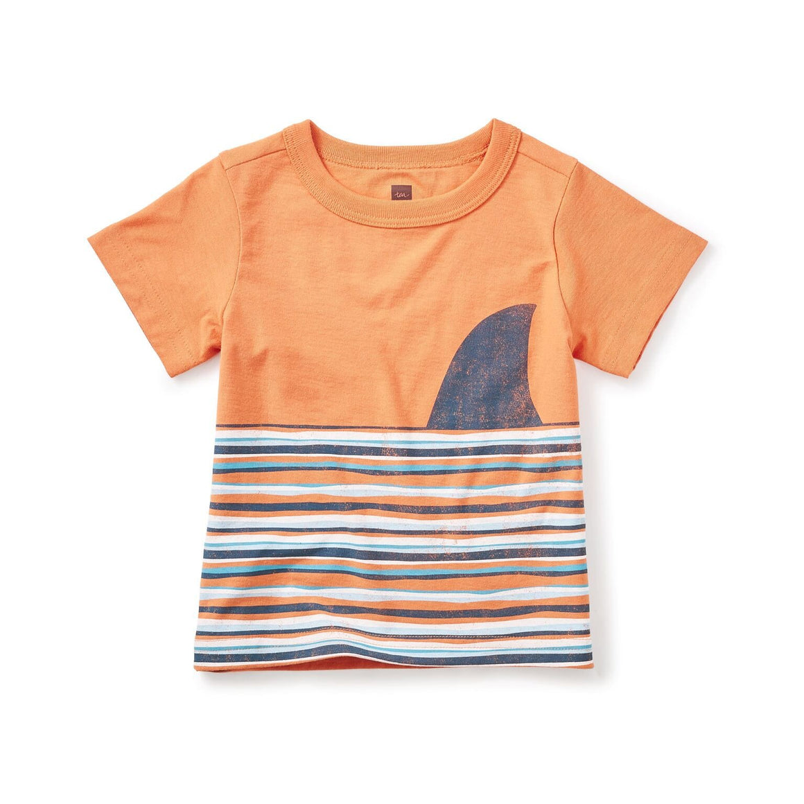 Tea Collection Fin Graphic Tee, Orchard