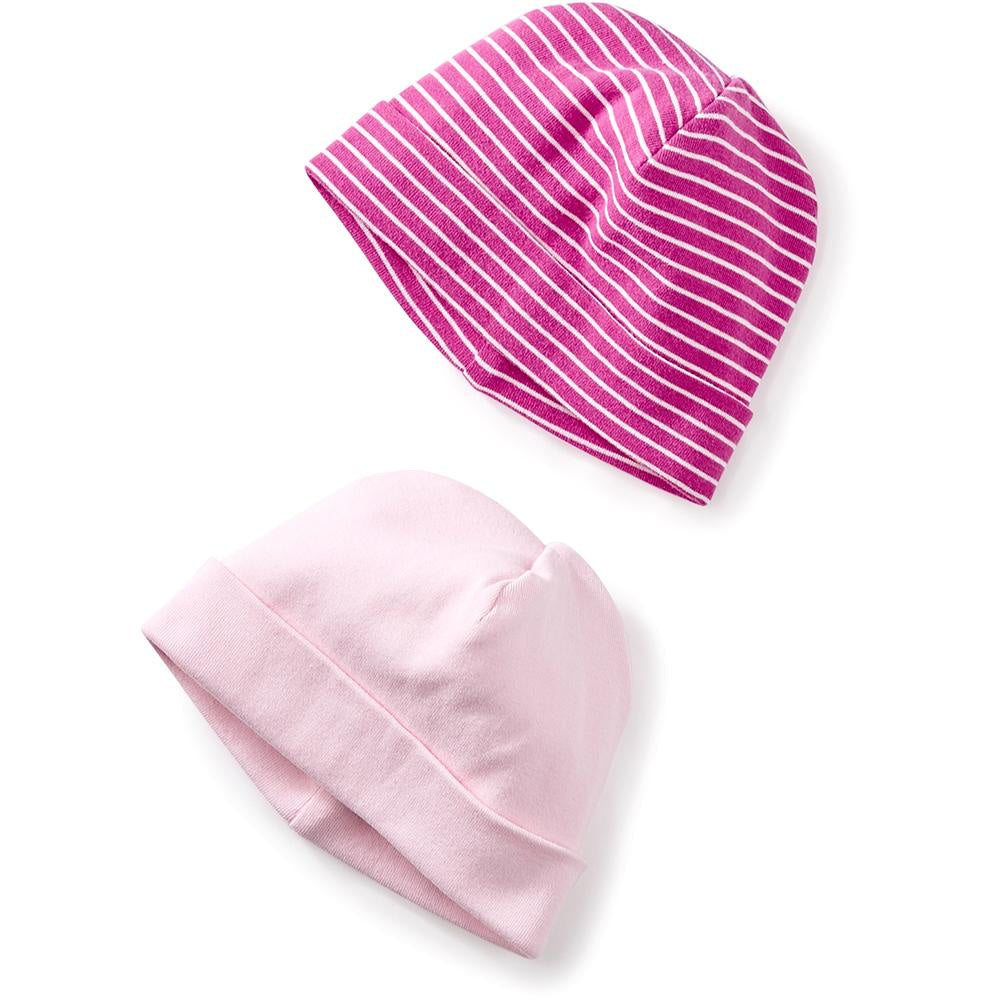 Tea Collection 2-Pack Hats, Pink Crepe