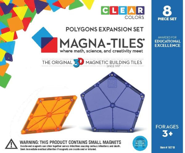 Magna Tiles Polygons Expansion Set