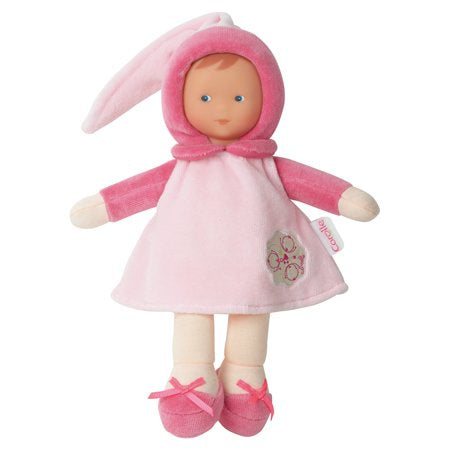 Miss Pink Cotton Flower Soft Baby Doll