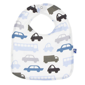 Natural Cars & Trucks Bib