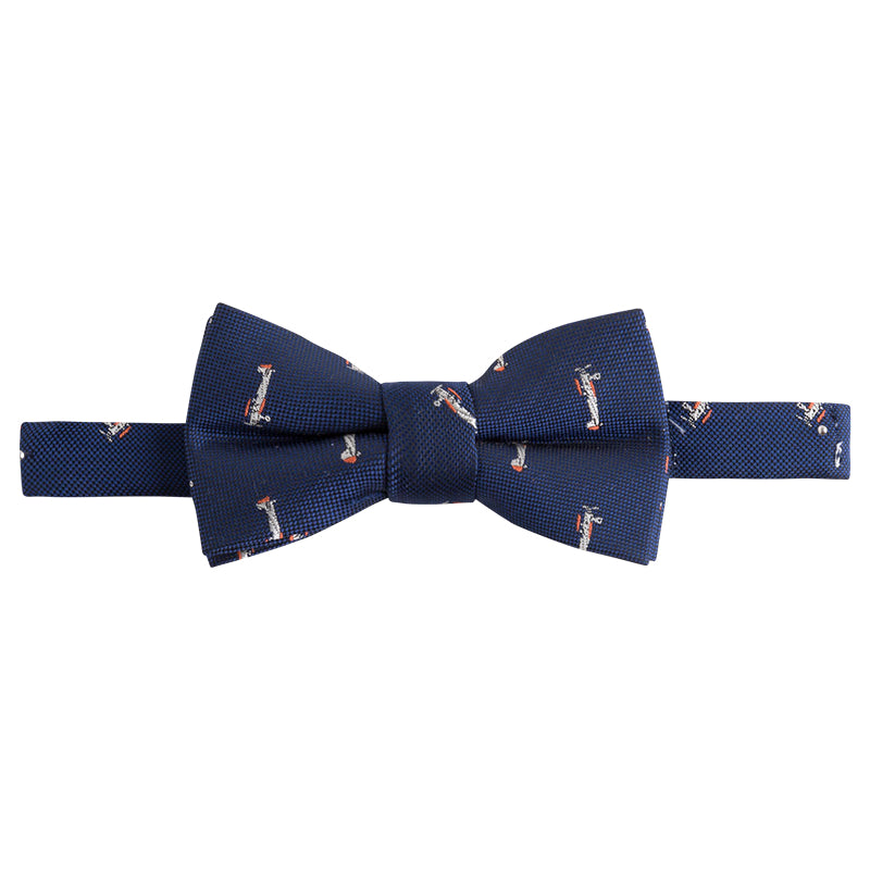 Mayoral Bow Tie, Blue Airplanes