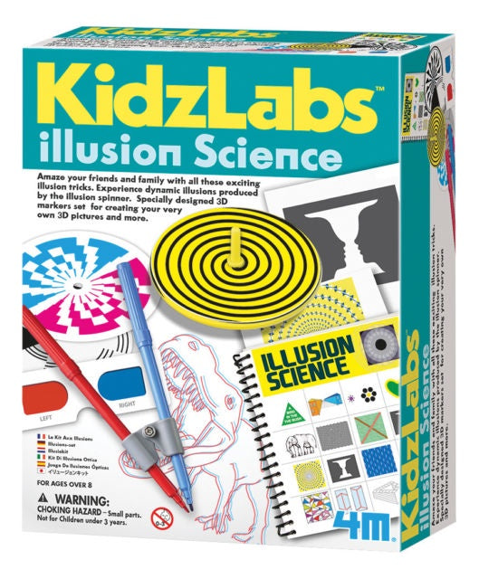 Kidz Labs Illusion Science Kit