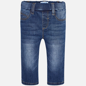 Mayoral Skinny Denim Pants, Basic