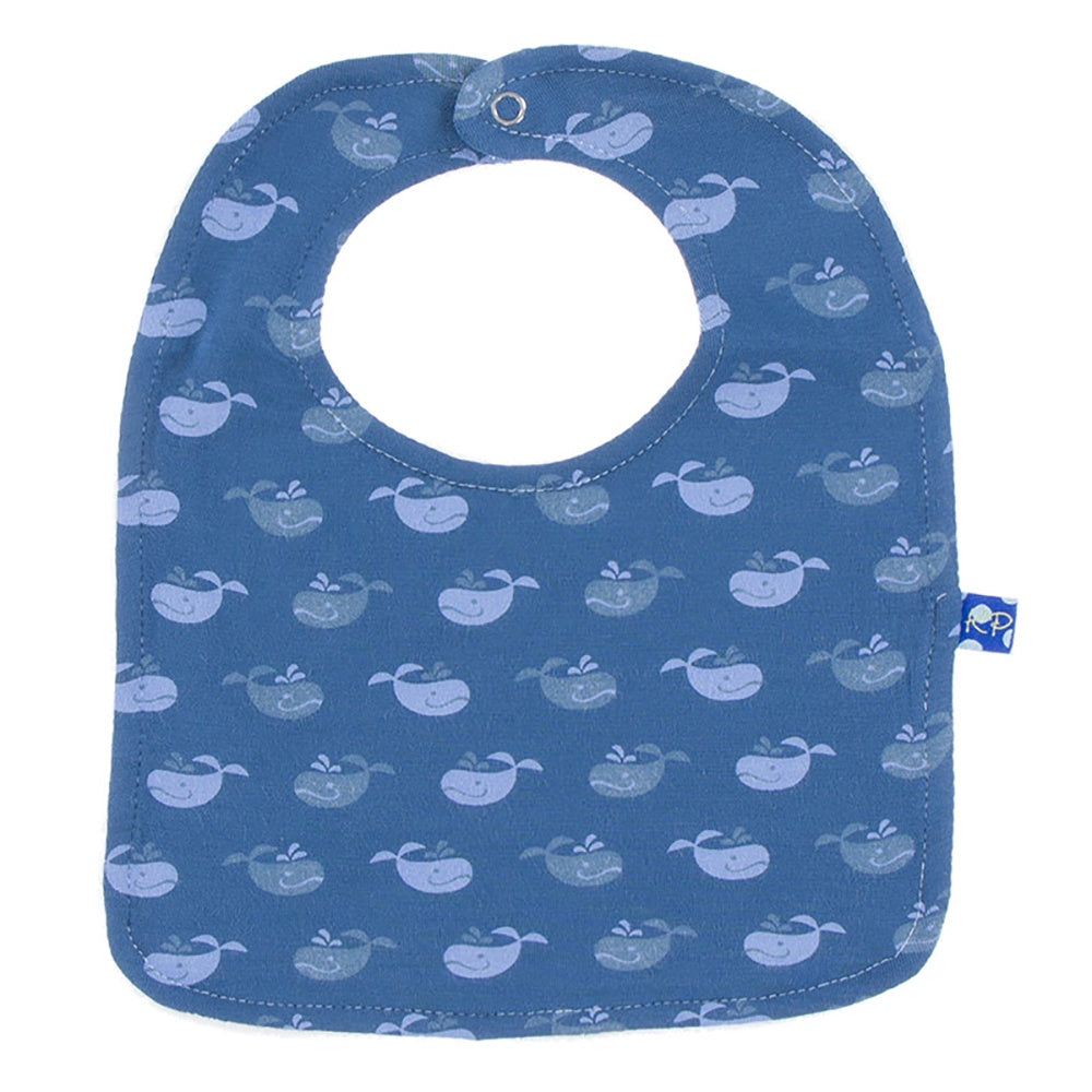 Twilight Whale Bib