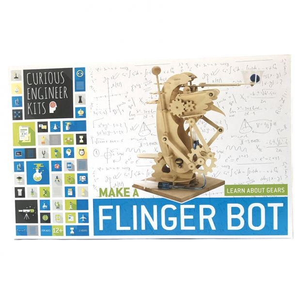 Curious Engineer, Flinger Bot