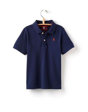 Joules Polo Shirt, Dark Blue