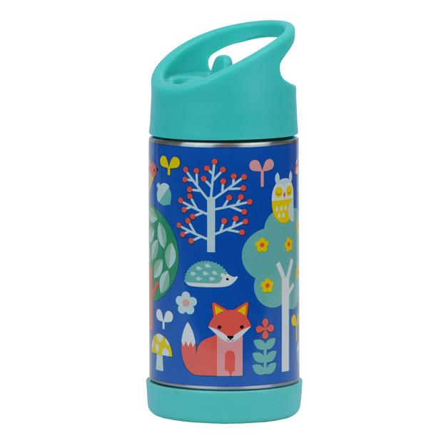 Insulated Stainless Steel Water Bottle, Woodland