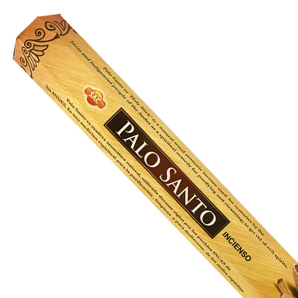 Incienso Palo Santo, 6 cajas de 20 Sticks