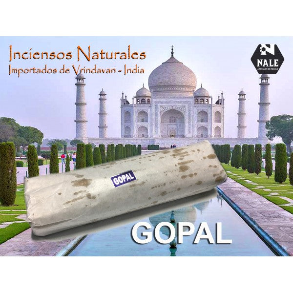 INCIENSO 100% Natural GOPAL
