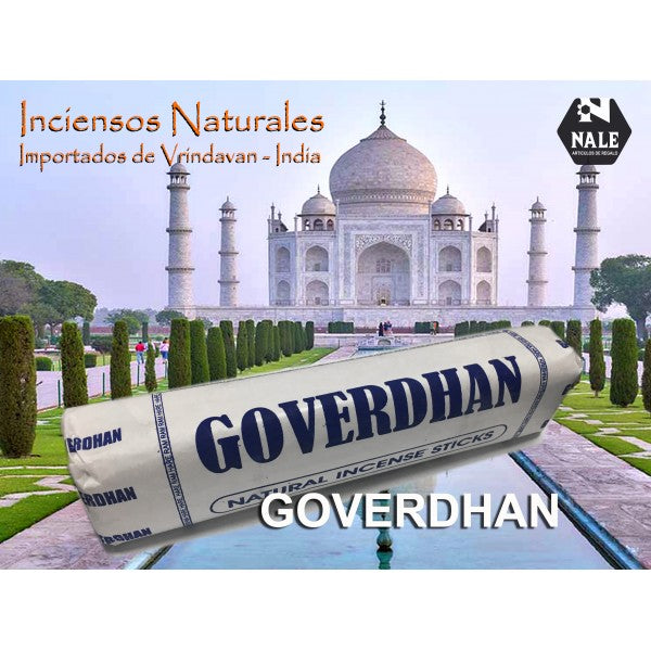 INCIENSO 100% Natural GOVERDHAN