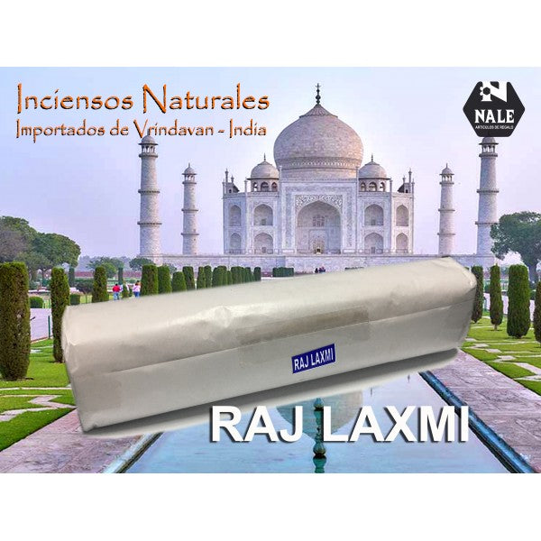 INCIENSO 100% Natural RAJ LAXMI