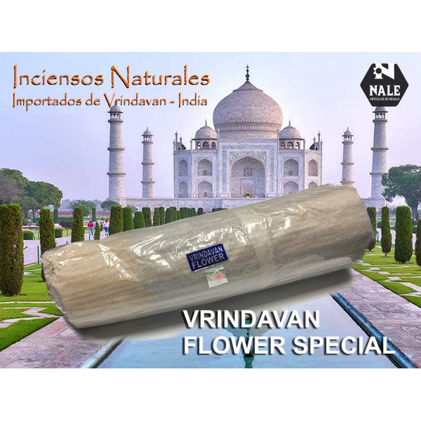 INCIENSO 100% Natural VRINDAVAN FLOWER SPECIAL