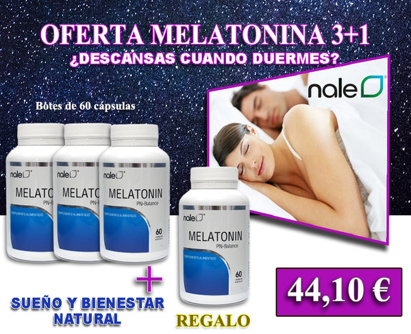 OFERTA MELATONINA 3+1