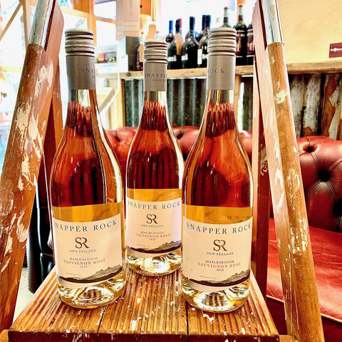 SNAPPER ROCK Sauvignon Blanc ROSE - Marlborough N.Z *OFFER* £2 OFF