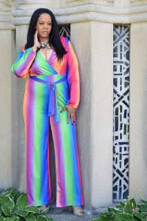 Multi-color Jumpsuit