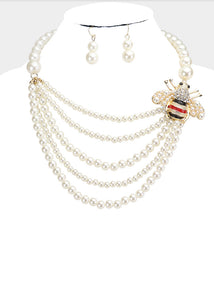 Bee Pearl Set