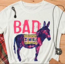 "Load image into Gallery viewer, ""BAD ASS"" Tee"