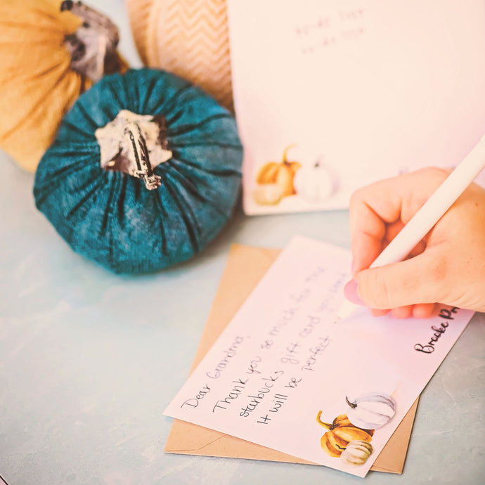 How to write a great thank you note