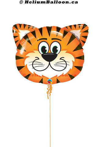 Super-Tiger-head-Animal-helium-balloon-Montreal-delivery-Livraison-bouquets-de-ballons-Helium-Montreal-Ballon-tete-Tigre-Animal