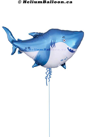 33774-01_Super_Shark_40_By_32_inches_Helium_Balloon_Bouquets_Delivery_Montreal_Ballon_Requin_40_32_pouces_Livraison_Bouquets_Montreal