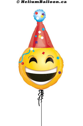 Clown Head Emoji Balloon - Standard Shape 20""