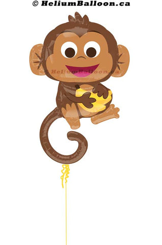 Happy Monkey - Super shape 33 inches