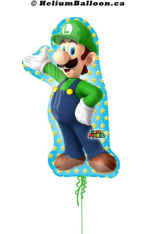 Balloon Luigi Super shape Metallic 38 inches