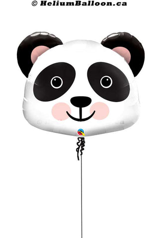 Super Panda Head Balloon 31 inches