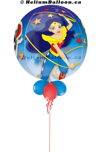 Bubble Wonder woman ( Age 1 to 9 Optional )