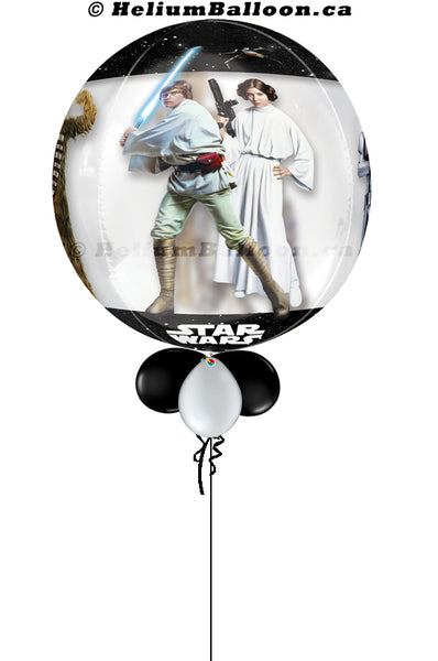 Bubble  Star Wars ( Age 1 to 9 Optional )