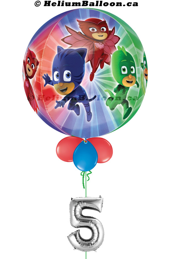 Bubble PJmasks ( Age 1 to 9 Optional )