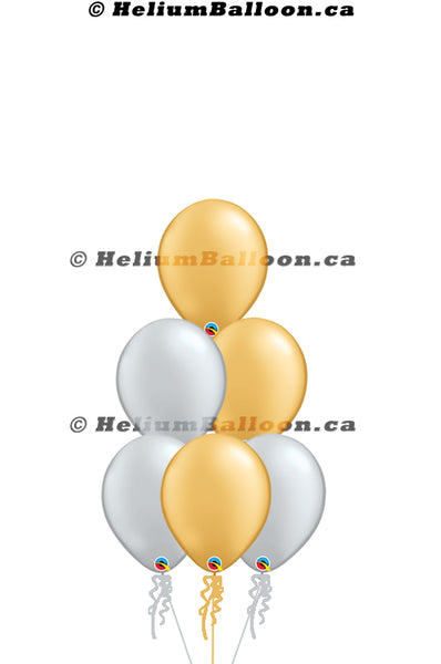Make Your Own Bouquet Pearl Latex Colors 11""