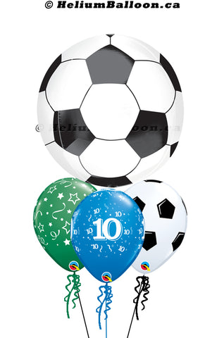 Bouquet Soccer Ball Age ( 1 to 90 )