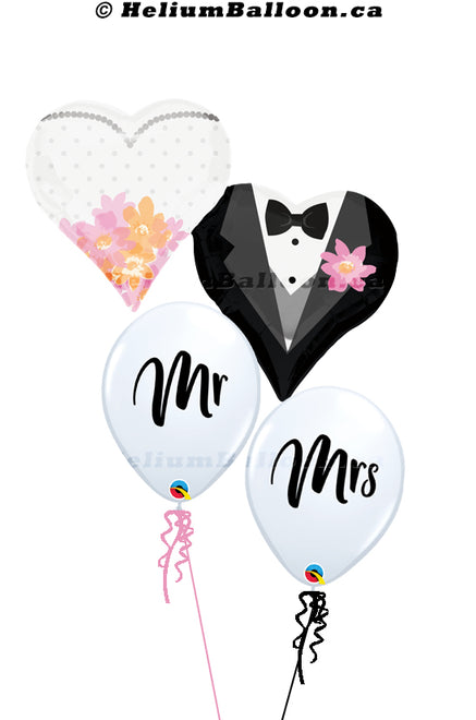 Wedding Balloons Bouquets