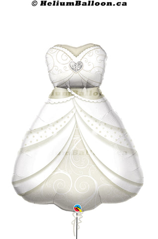 Bride Wedding Dress Balloon 38 inches