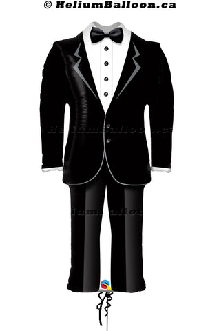 Groom Tuxedo Balloon 39 inches