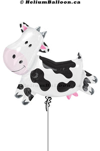 Cow Balloon Super Shape - Mylar 33 inches