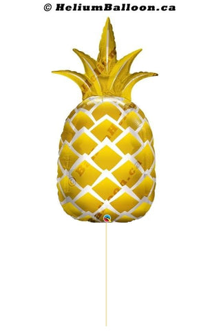 Golden Pineapple Super Shape Balloon