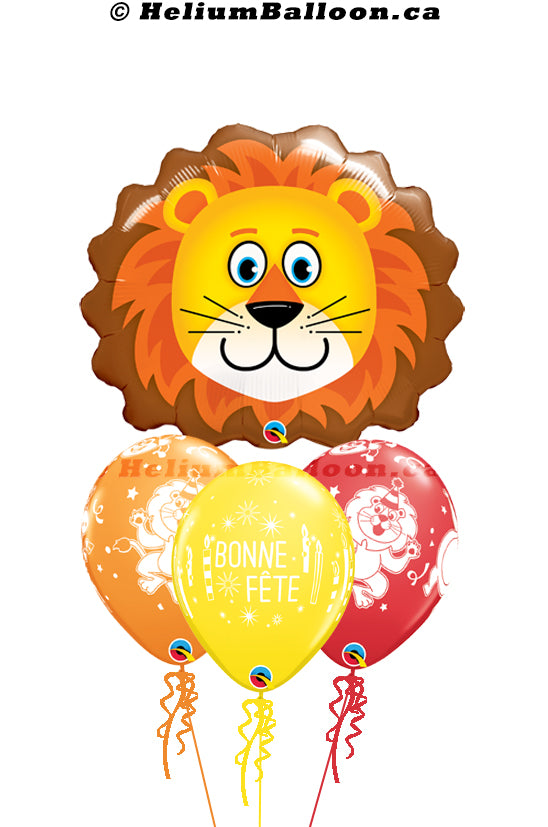 Bouquet Super Lion Bonne Fête / Happy Birthday