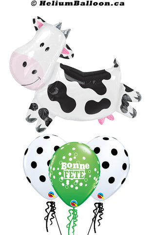 Bouquet Super Cow Bonne Fête / Happy Birthday