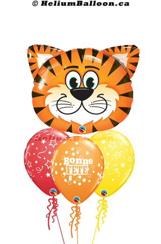 Bouquet Super Tiger Bonne Fête / Happy Birthday