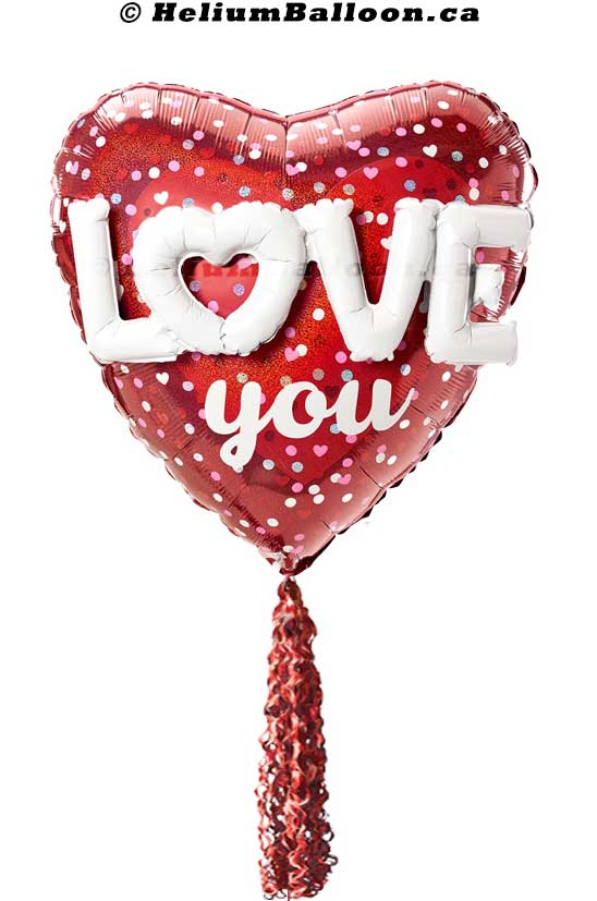Love Heart Super Shape Balloon 30 inches