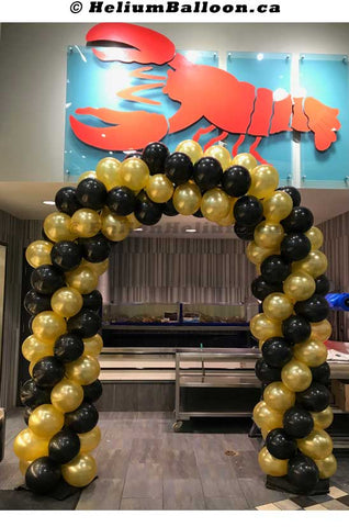 Balloon-Arch-6-8-feet-latex-balloons-decoration-outdoor-indoor-Montreal-delivery-Arche-de-ballons-6-8-pieds-decorations-Livraison-Montreal