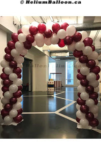 Balloon-Arch-8-8-feet-latex-balloons-decoration-outdoor-indoor-Montreal-delivery-Arche-de-ballons-8-8-pieds-decorations-Livraison-Montreal