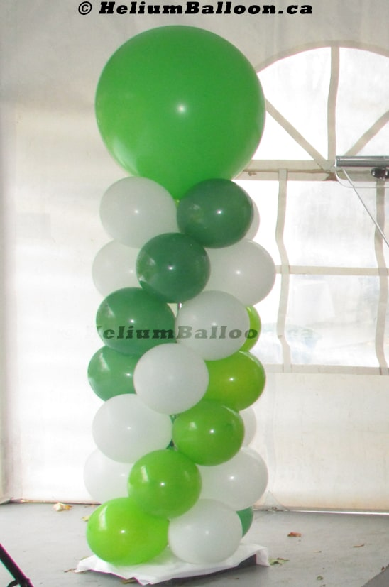 Balloon-Column-7-feet-latex-balloons-decoration-outdoor-indoor-Montreal-delivery-Colonnes-de-ballons-7-pieds-decorations-Livraison-Montreal
