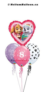 Bouquet Paw Patrol Pink ( Age 1 to 10 )