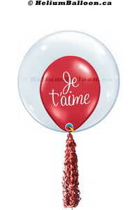 Double Balloon Je t'aime